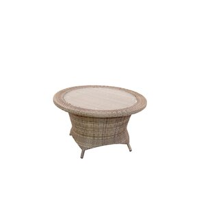 Norfolk Wicker Chat Table
