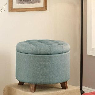 Ruano Leather Storage Ottoman By Charlton Home