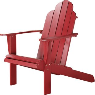 Norgren Solid Wood Adirondack Chair