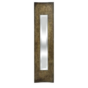 Narrow Wall Mirror dark brown wall mirror | wayfair