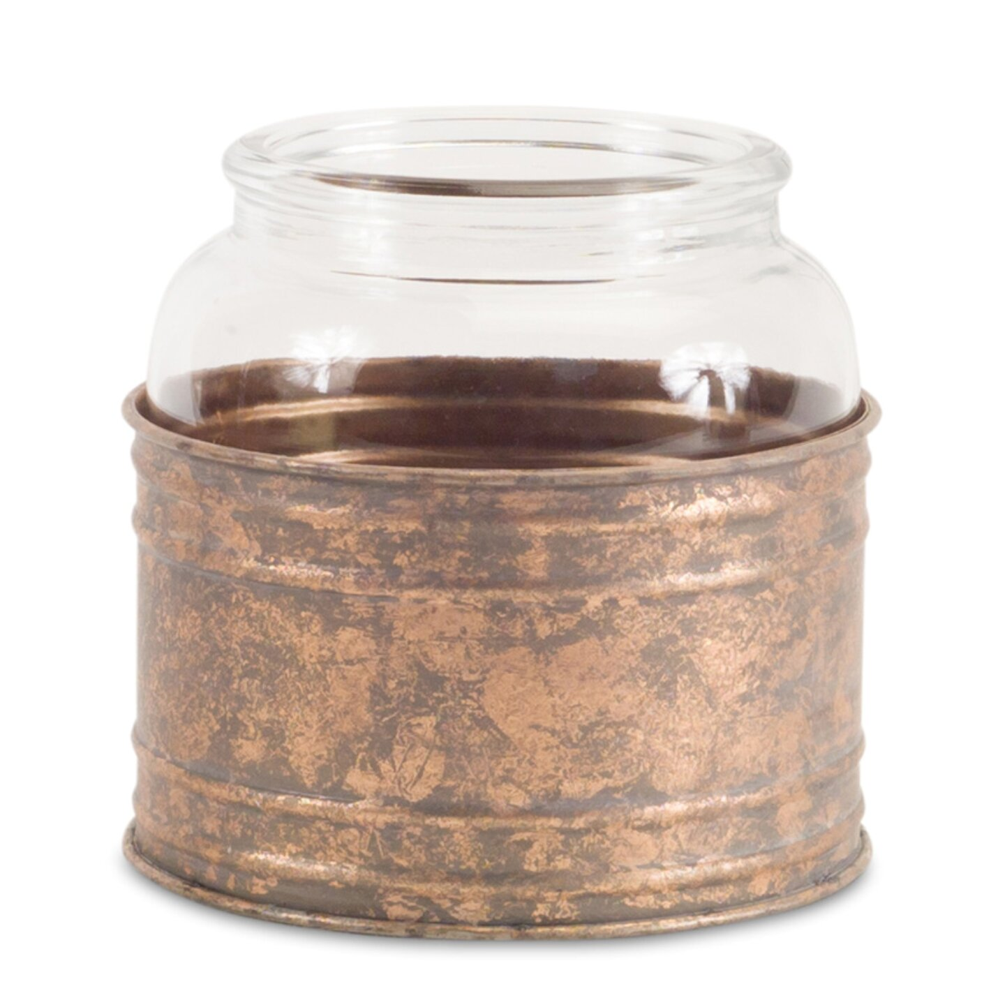 Gracie Oaks Jar Metal Votive Wayfair