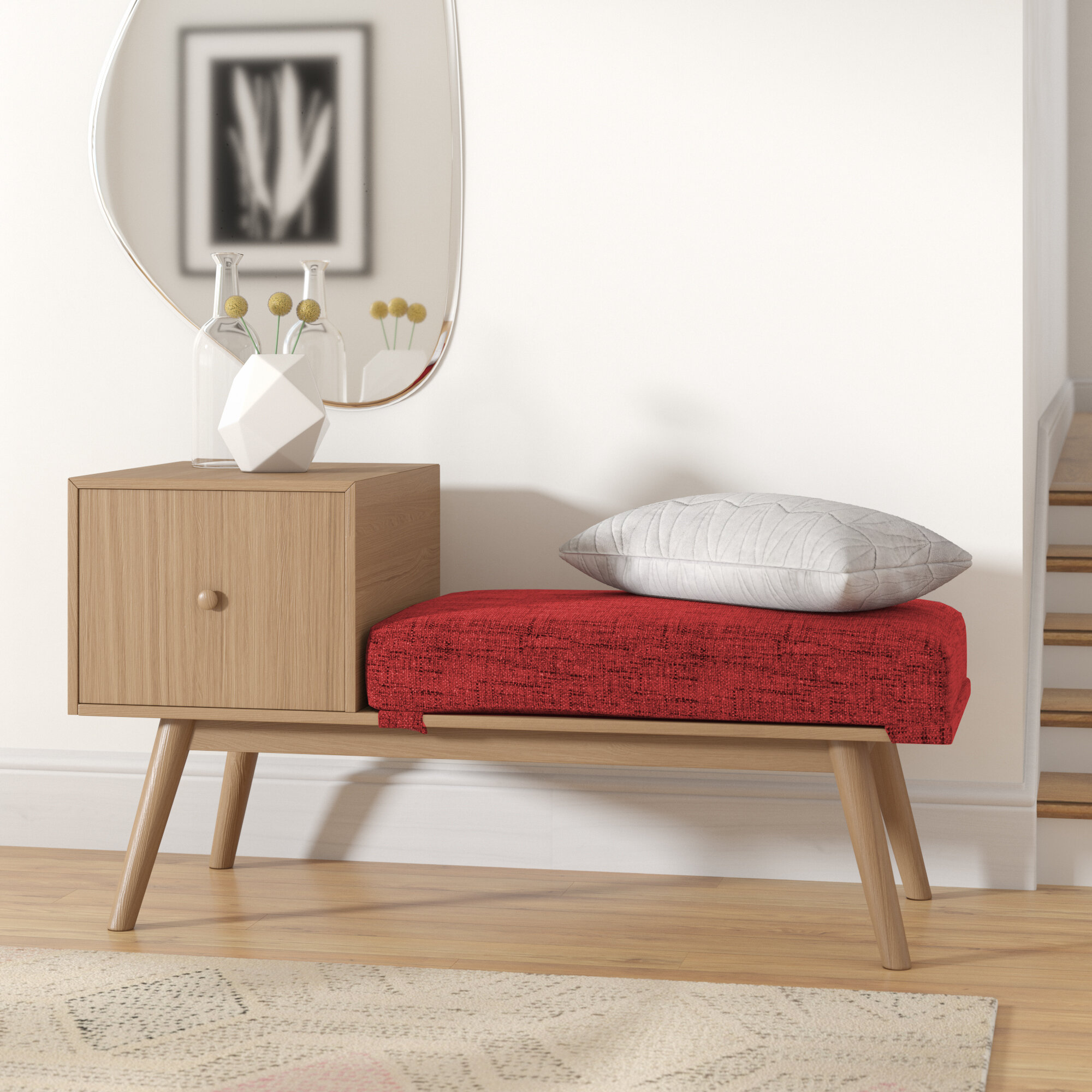 Pleasing Lynnfield Wood Storage Bench Gmtry Best Dining Table And Chair Ideas Images Gmtryco