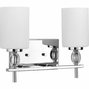 Compare & Buy Clemmons 2-Light Vanity Light By Latitude Run