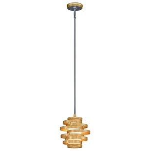 Vertigo 1-Light Novelty Pendant by Corbett Lighting