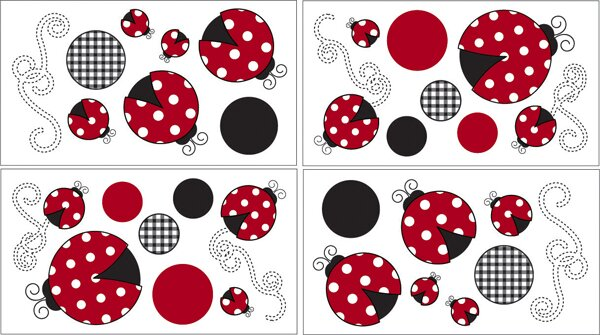Little Ladybug Wall Decal