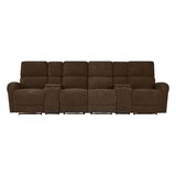 Krysta Reclining 127.6 Square Arm Sofa by Red Barrel Studio®
