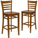 Loughran 30 Bar Stool (Set of 2) by Red Barrel Studio®