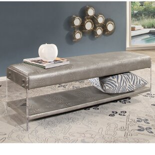 Everly Quinn Zoraida Upholstered Bench