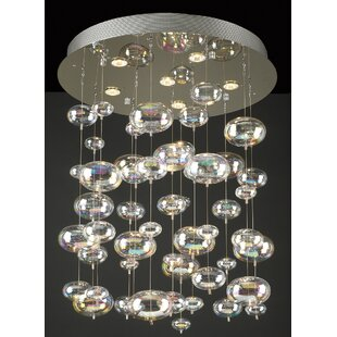 Kidsgrove 6-Light Pendant by Everly Quinn