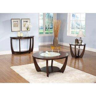 Brayden Studio Thurmont 3 Piece Coffee Table Set