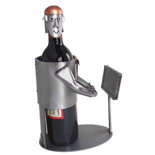 Video Gamer 1 Bottle Tabletop Wine Rack b..