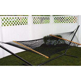 Roe Double Cotton Rope Hammock by Bay Isle Home