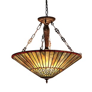 Bellar 3-Light Bowl Pendant by Astoria Grand