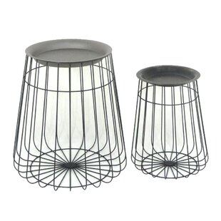 2 Piece End Table Set by Sagebrook Home