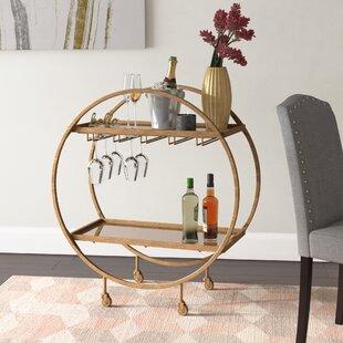 Karon Bar Cart by Corrigan Studio