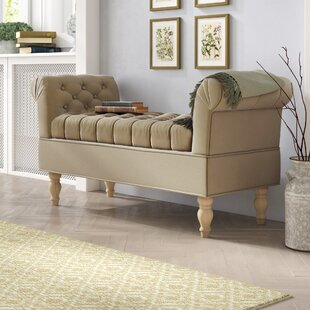 Morel Upholstered Storage Bench