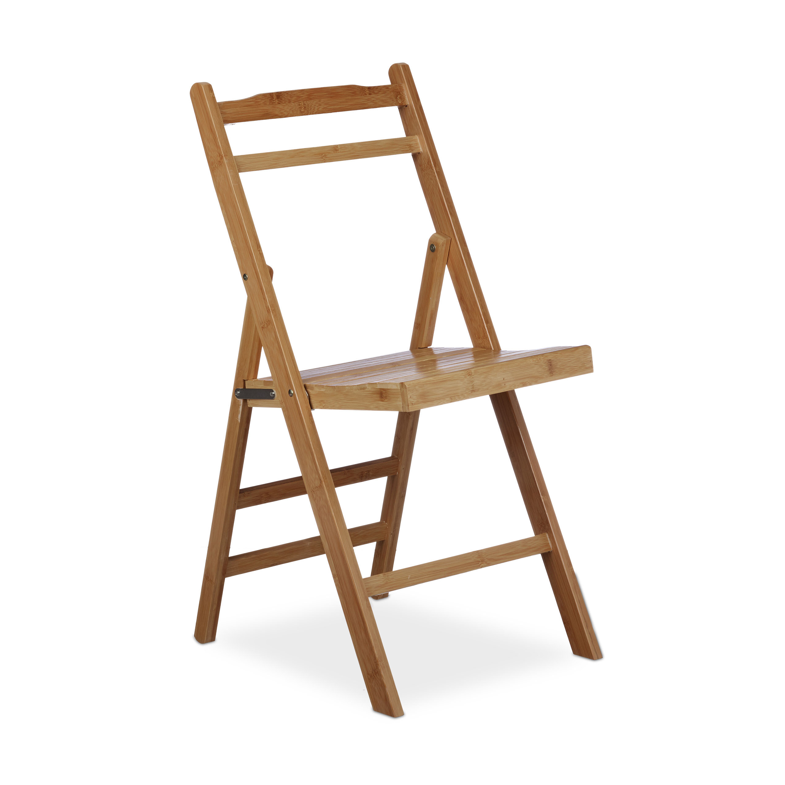 Relaxdays Bamboo Folding Chair & Reviews