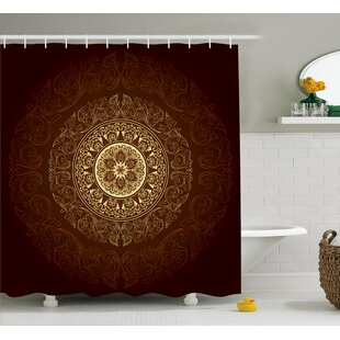 Audington Asia Spiritiual Culture Single Shower Curtain