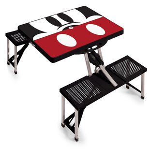 Mickey Mouse Folding Aluminum Camping Table
