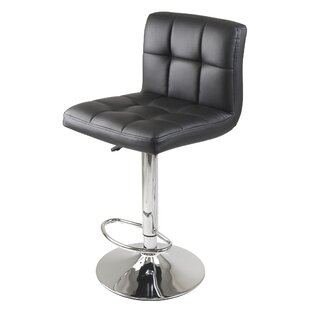 Stockholm Adjustable Height Swivel Bar Stool Winsome