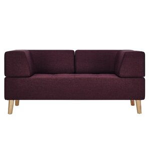 Alley Linen Loveseat by Mercury Row