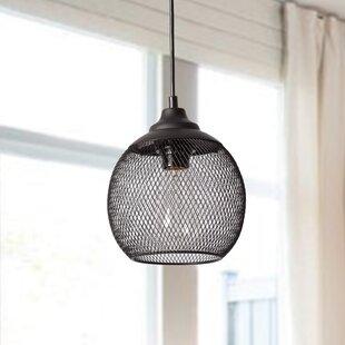Williston Forge Mccane 1-Light LED Globe Pendant