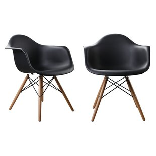 Modern Designer Plastic Dinning Side Chair (Set Of 2) by Attraction Design Home Today Sale Only