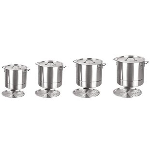 8 Piece Stock Pot Set