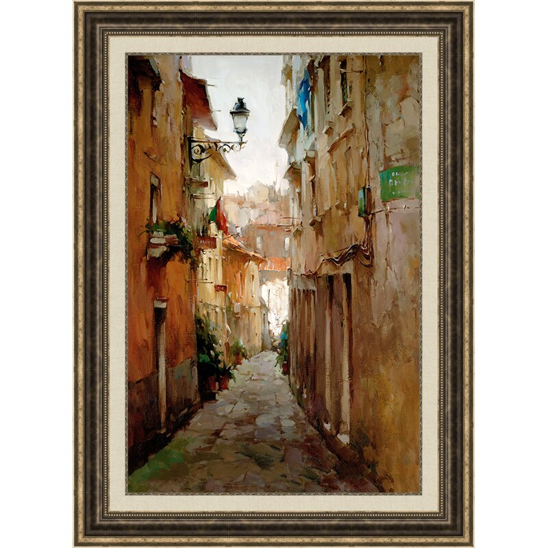 Framed Painting Print