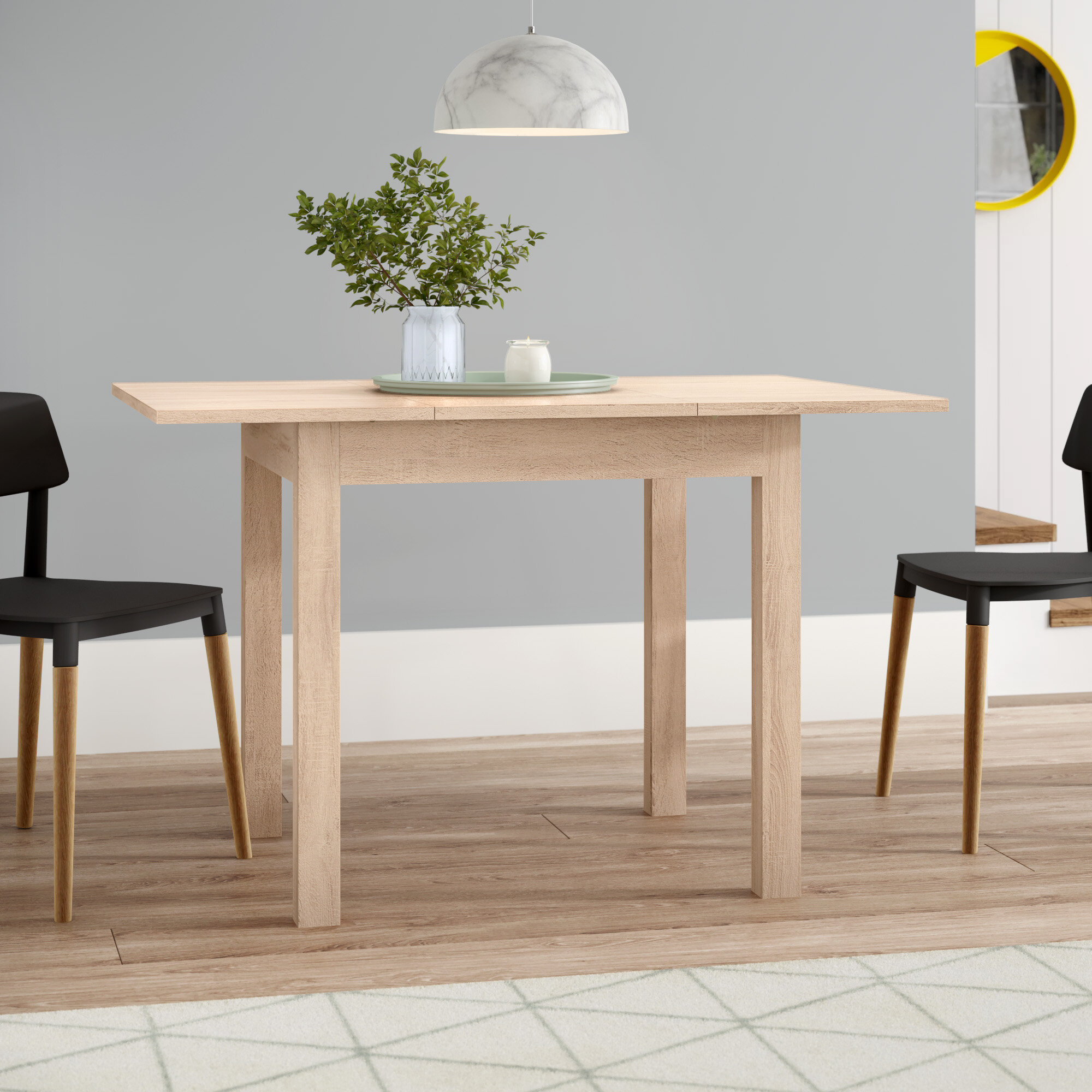 a3eb670e190 All Home Bamberg Extendable Dining Table