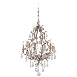 Corbett Lighting Amadeus 6-Light Candle Style Chandelier