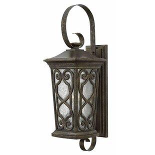 Great Price Alhambra 1-Light Outdoor Sconce By Fleur De Lis Living