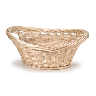 Affordable Cottage Willow Wicker Laundry Basket By Darby Home Co