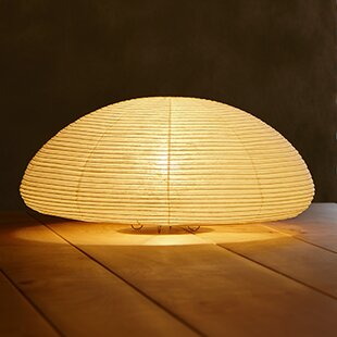 Paper Saucer Moon 6 Table Lamp