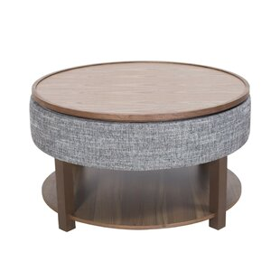 Charleen Lift Top Coffee Table with Tray Top and Storage