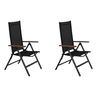 Hamon Reclining Garden Chair (Set Of 2) By Sol 72 Outdoor