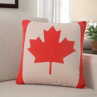 9727bb9c67ff3a Raylene Canadian Flag Throw Pillow