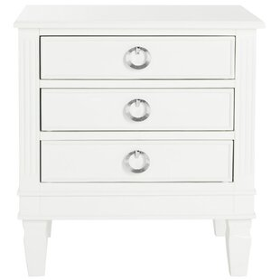 Jose 3 Drawer Nightstand