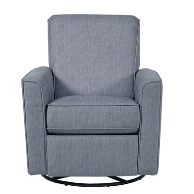 Mack & Milo Ninette Reclining Glider Color: Dove Gray