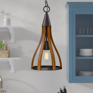 Delphia 1-Light Teardrop Pendant by Laurel Foundry Modern Farmhouse