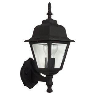 Find for Overbey 1-Light Outdoor Sconce By Charlton Home