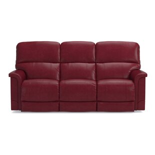 Deals Oscar Leather Power Full Reclining Sofa by La-Z-Boy Reviews (2019) & Buyer's Guide