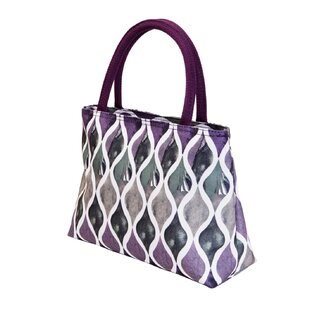 Insulated Lunch Waves Picnic Tote Bag