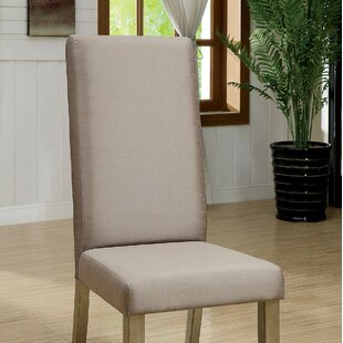 Tristian Upholstered Dining Chair (Set of 2) Rosdorf Park