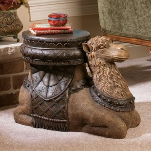 Read Reviews The Kasbah Camel Sculptural End Table By Design Toscano