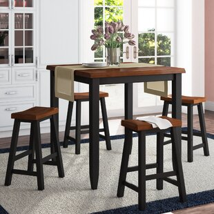 Simmons Casegoods Ruggerio 5 Piece Counter Height Pub Table Set DarHome Co