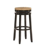 Woollard Bar & Counter Swivel Stool by Bay Isle Home