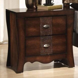 Darby Home Co Northlake 2 Drawer Nightstand