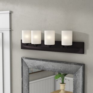 Cusack Modern 4-Light Vanity Light By Ebern Designs