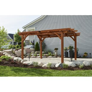 Sonoma 12 Ft. W x 16 Ft. D Wood Pergola by The Outdoor GreatRoom Company